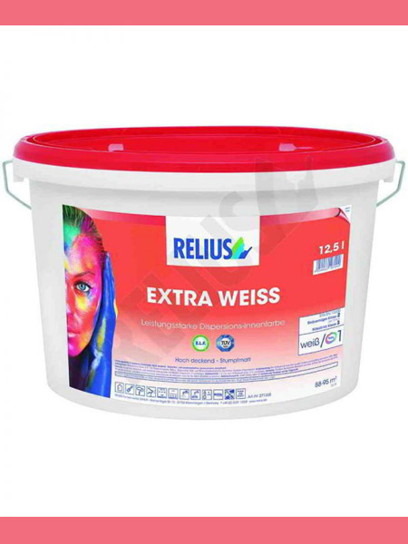 Pittura Extra Weiss Relius 12,5 litri