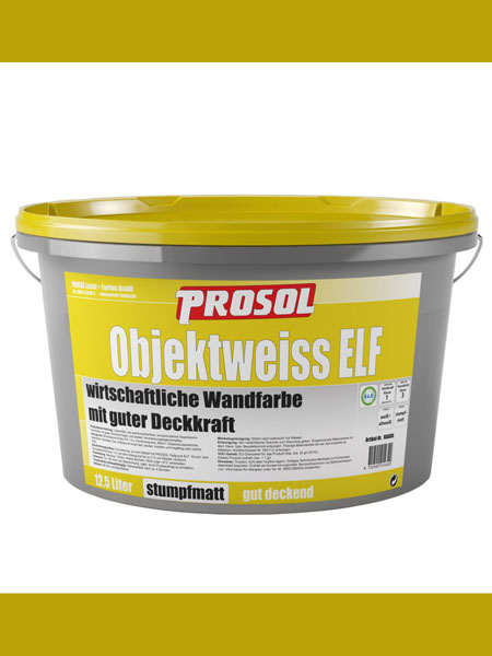 Prosol Objektweiss Elf pittura ultra coprente