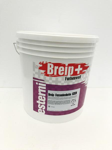 Breip+ Fassadenfarbe Quarzo pittura
