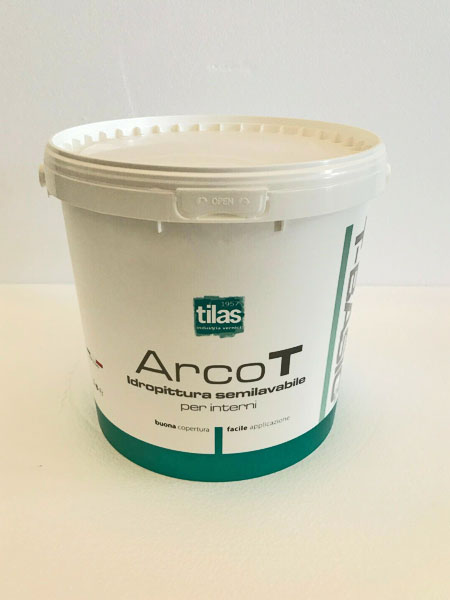 Idropittura semilavabile Arco T Tilas Dry Wall System