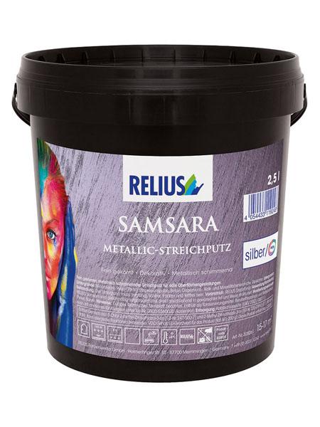 Relius Samsara intonaco decorativo metallico ecommerce